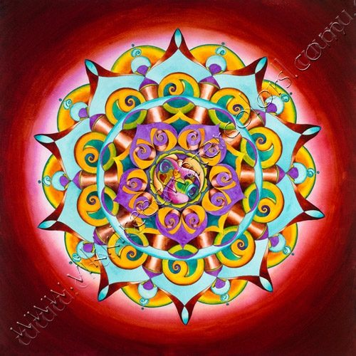 Grateful Heart Mandala