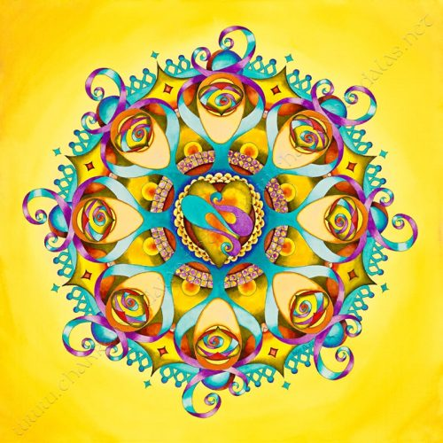 Cultivating Contentment Mandala