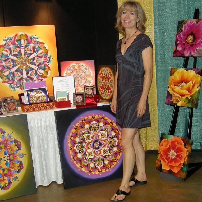Vikki Reed, mandala artist