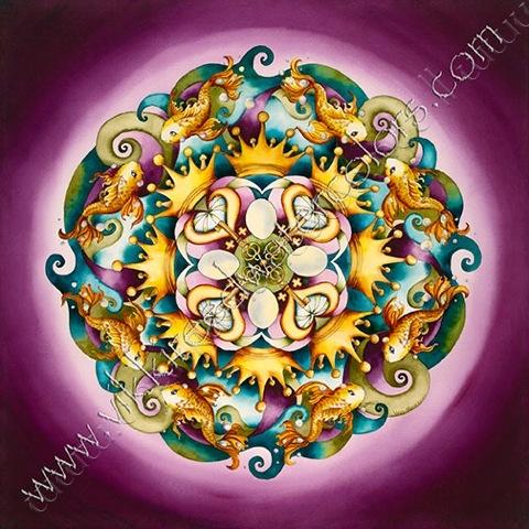 Unconditional Abundance Mandala